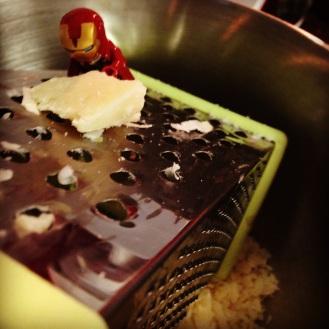 Etape 2 - Le rapage du Parmesan