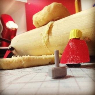 Etape 5 - l'étalage de la pâte