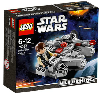 """MicroFighter"" Faucon Millenium + Han Solo"
