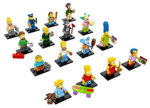 Simpsons minifigurines