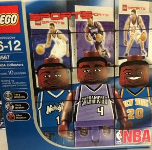 NBA set T-Mac, Webber, Houston